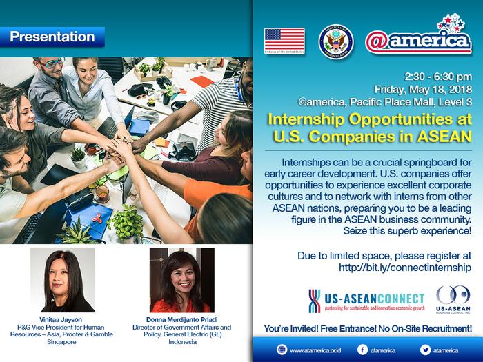 U.S. - ASEAN Internship Program Launching Event