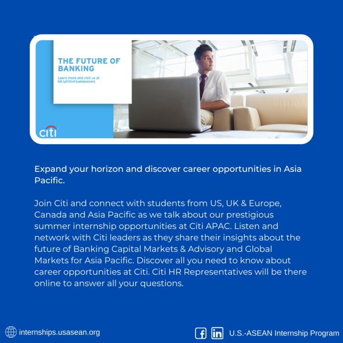 [OPPORTUNITY] Meet Citi - APAC Business Insights