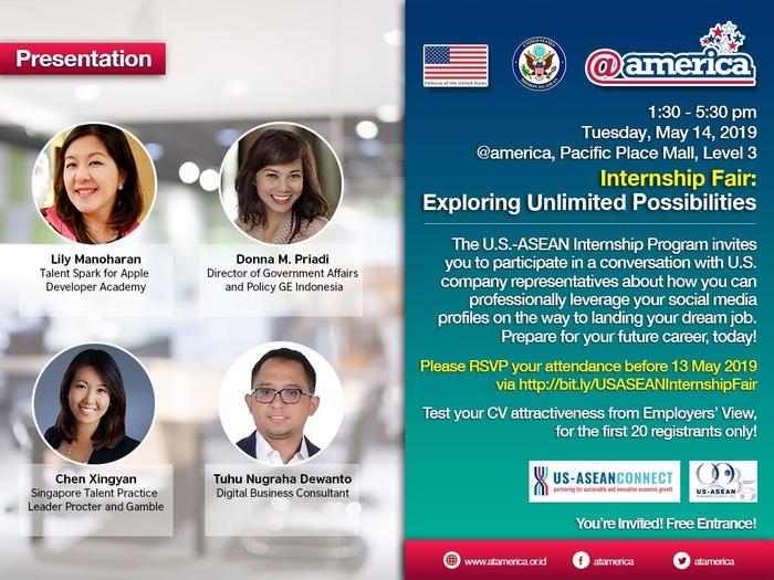 "U.S.-ASEAN Internship Fair: ""Exploring Unlimited Possibilities"""